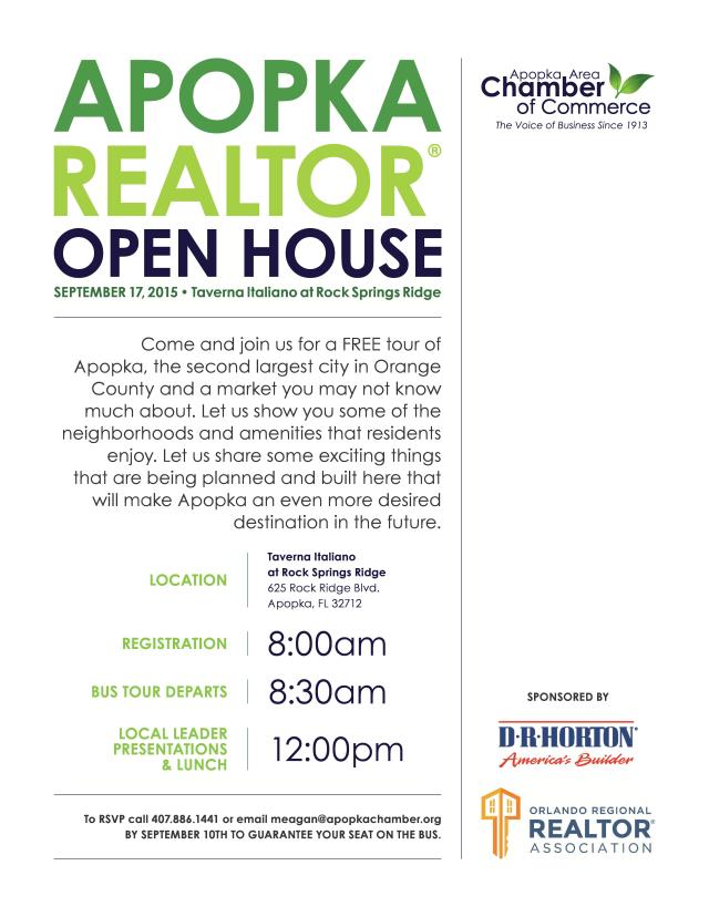 Apopka Realtor Open House
